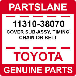 11310-38070 Toyota Oem Genuine Cover Sub-assy Timing Chain Or Belt