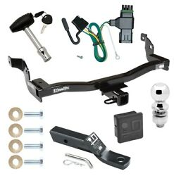 Trailer Tow Hitch For 99-02 Nissan Quest Mercury Villager Wiring 2 Ball And Lock