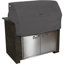 Classic Accessories Ravenna Built-in Bbq Grill Top Cover, Taupe