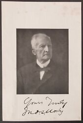 John S. Mosby Signed Photographic Print Confederate Civil War Gray Ghost