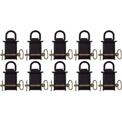 10 Removable Stake Pocket D-ring For Utility Trailers Flatbeds With Pockets