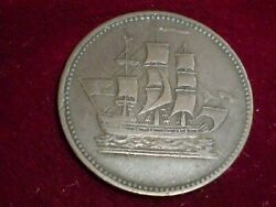 Pe-10-41c Ships And Colonies Token Edward Island Canada 1835