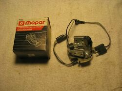 Nos Mopar 1980and039s Dual Pickup Distributor Plate