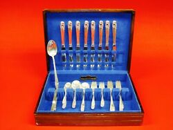 49 Pieces Sterling Silver By International Spring Glory Pattern.