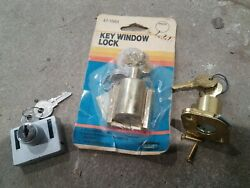 Mixed Lot Of 3 Window Lock Keyed For Security