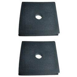 2 Tractor Radiator Mounting Rubber Pads Fits Ford Naa 600 601 800 801 2000 4000