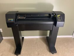 Summa 30 T750 Tangential Drop Knife Vinyl Cutter For Signs And Decals
