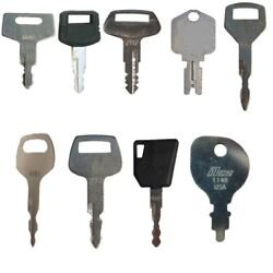 Set Of 64 Keys For Heavy Equipment / Construction Ignitions