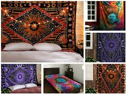 Tapestry Wholesale 1 to 50 Lot SunMoon Handmade TapestryWall Hanging Poster Size
