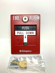 Lot Of 24 Simplex / Tyco 4099-9006 - Addressable Manual Idnet Pull Station W/led