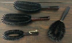 Stanley Clothes Vintage Lint Brush Lot of Four Brushes