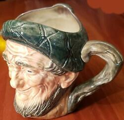 Large Royal Doulton Auld Mac Toby Jug Excellent Condition 6 Inches Tall