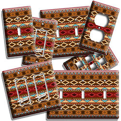 Native Latin Southwest Western Pattern Light Switch Outlet Wall Plate Room Decor