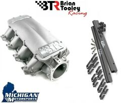 Btr Equalizer Intake Manifold And Fuel Rail Cathedral Head Ls1 Ls2 4.8 5.3 5.7 6.0