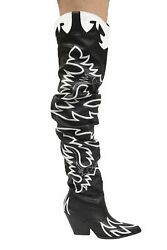 Kelsey 21 Cape Robbin Cowboy Western Pointy Over The Knee Thigh High Boots $44.99