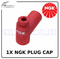 1x Genuine Ngk Red Rubber Spark Plug Cap To Fit Ktm Sxc 620 Lc4 1997 - Spc1na5