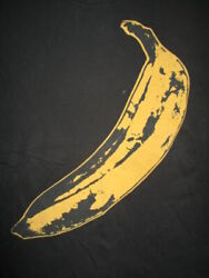 Retro Velvet Underground And Nico Concert Tour Lg T-shirt Andy Warhol Lou Reed