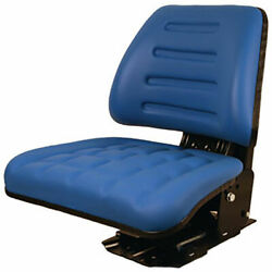 Blue Suspension Seat Fits Ford/fits New Holland 5000 5600 5610 5900 5910 Tractor