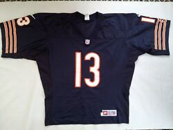 Vintage Nike Pro Line Authetic Chicago Bears 13 Mirer Pro Cut Jersey In Size 52