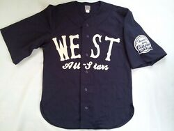 Rare Ebbets Flannels Ted Double Duty Radcliffe Classic Eastvs West Jersey Size S