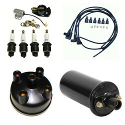 Tune Up Kit Fits Ford 8n Tractor Side Mount Distributor Ignition Kit W/ 12v Coil