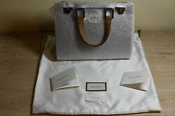 Zumi Grainy Leather Small Top Handle Bag 3,200 Msrp