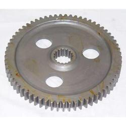 A168926 New Backhoe Bull Gear With 65 Teeth Made Fits Case 480c 480d 580c 580d