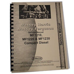 Fits Massey Ferguson 1230 Compact Tractor Service Manual