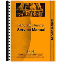 Service Manual Fits Allis Chalmers 912 Lawn And Garden Tractor Chassis Only
