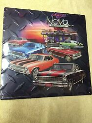 New Nova Ss Tin 3d Several Years Pictured Man Cave Wall Hanger