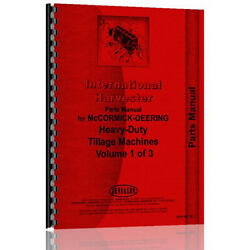 Parts Manual Made Fits Case-ih International Tractor Model 31