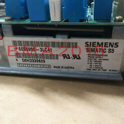 1pc Used Siemens 6es5 955-3lc41 Tested In Good Condition Fast Delivery