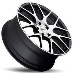 4ea 22 Staggered Tsw Wheels Nurburgring Gunmetal Rotary Forged Rims S7