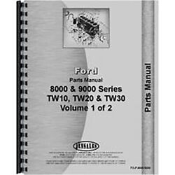 New Tractor Parts Manual Fits Ford 8000