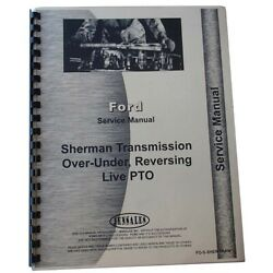 Fo-s-sher-tran Service Manual Fits Massey Ferguson To30 Tractor