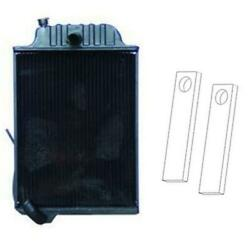 Re21894 R26413 Radiator And Straps Fits John Deere Tractor 4040