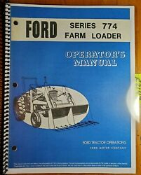 Ford 774 19sm1448 Farm Loader For 5100 5200 7100 7200 8000 9000 Tractor Manual