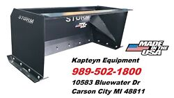 7 Foot Storm Snow Pushers For Skid Steer Or Tractor