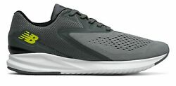 New Balance Men's Fuel Core Vizo Pro Run Shoes Grey with Yellow