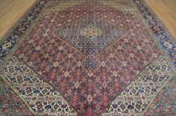 9'8 X 12'5 Magnificent Genuine S Antique Mood Hand Knotted Wool Area Rug 10 X 12