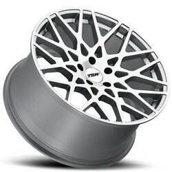 4ea 20 Staggered Tsw Wheels Vale Silve Rims S9