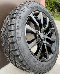 Genuine Land Rover Discovery 4 And 5 5002 20 Alloys And Good Year Duratrac Tyres X4
