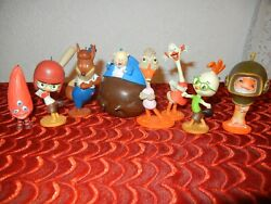 Rare Disney Chicken Little Christmas Ornament Set - Ornaments - Cake Toppers
