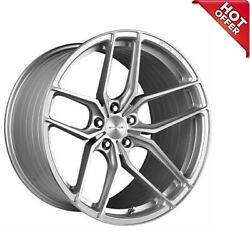 4ea 20 Stance Wheels Sf03 Brush Silver Rims S8