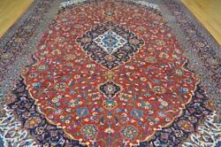 10 X 13'5 Elegant S Antique Hand Knotted Wool Area Rug 10 X 14 Oriental Carpet