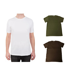 5 10 Or 12 Pack T-shirts Preshrunk 100 Soft Cotton Superior Quality Crew Neck
