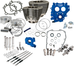 Sands Cycle 585ce Black Big Bore Cylinder Kit - Power Package Usa Made 330-0664