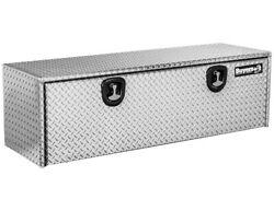 Buyers Products Silver/18 X 18 X 60 Silver Underbody Truck Tool Boxes Diamond Al