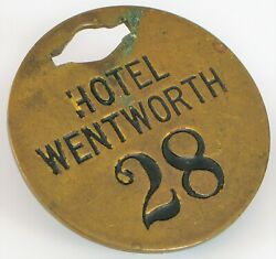 Historic Gilded Age Grand Hotel Wentworth By The Sea New Castle Nh Room Key Fob