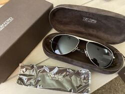 NWT Tom Ford James Bond (TF108 19v) Quantum of Solace 007 Daniel Craig Blue Lens